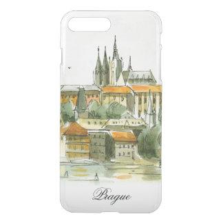 Prag-Schloss iPhone7 plus klaren Fall iPhone 8 Plus/7 Plus Hülle