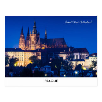 Prag-Schloss-Postkarte Postkarte