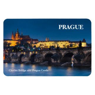 Prag-Schloss Vinyl Magnete