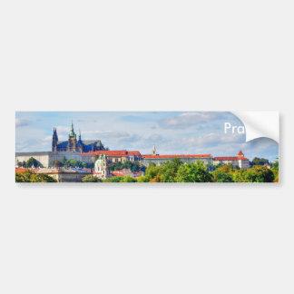 Prag-Schlosspanorama Autoaufkleber