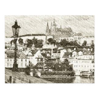 Prag, Tschechische Republik Postkarte