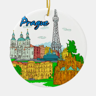 Prag - tschechisches Republic.png Keramik Ornament