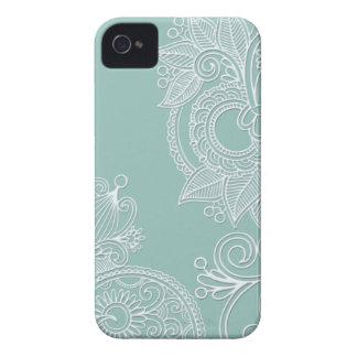 Prägeartiger Paisley iPhone 4s Kasten Case-Mate iPhone 4 Hüllen