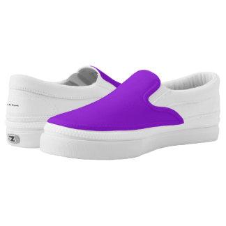 Praktische Lösung lila Slip-On Sneaker