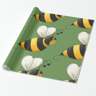 Pralle Bienen-glattes Packpapier