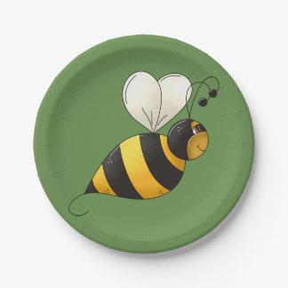 Praller Bienen-Papier-Teller Pappteller