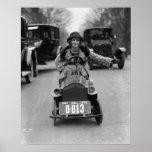 Prallplatte, die Pedal Car, 1924 fährt