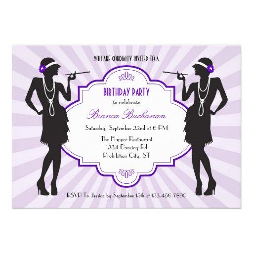 Prallplatten-Geburtstags-Party Einladung