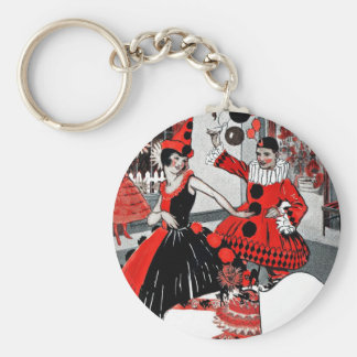 Prallplatten-Halloween-Kostüm-Party Schlüsselanhänger