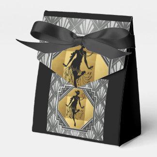 Prallplatten-Kunst-Deko Gatsby kleiner Geschenkschachtel