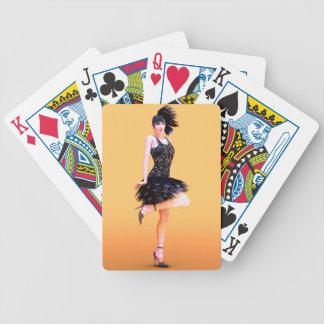 Prallplatten-Tanzen Bicycle Spielkarten