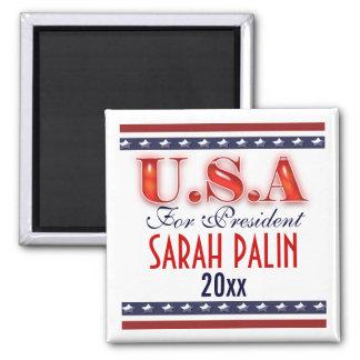 Präsident 2012 Sarahs Palin FERTIGEN besonders an Quadratischer Magnet