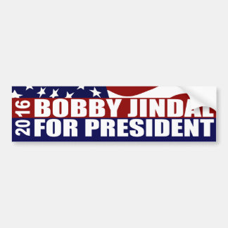 Präsident 2016 Bobby-Jindal Autoaufkleber