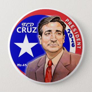 Präsident 2016 Ted-Cruz Runder Button 10,2 Cm