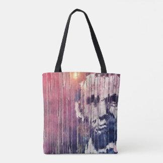 Präsident Abraham Lincoln abstrakt Tasche