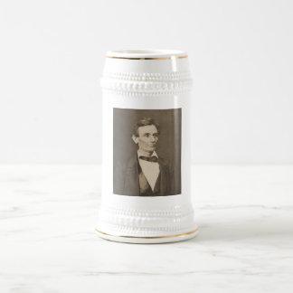 Präsident Abraham Lincoln -- Ziviler Krieg Bierglas