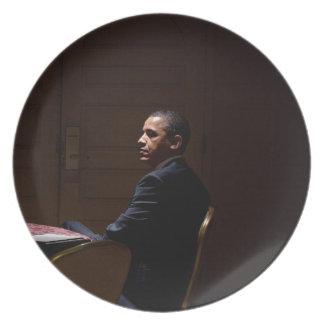 Präsident Barack Obama 12 Teller