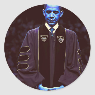 Präsident Barack Obama an Notre Dame-Universität Runder Aufkleber
