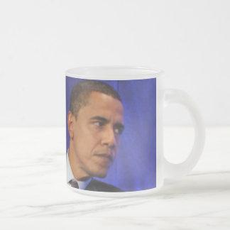Präsident Barack Obama Matte Glastasse