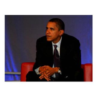 Präsident Barack Obama Postkarte