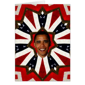 Präsident Barack Obama, USA_ Karte