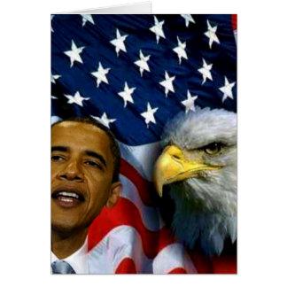 Präsident Barack Obama, Visionen u. Dreams_ Karte