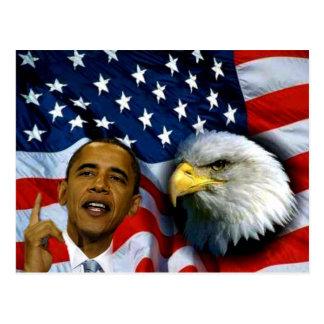 Präsident Barack Obama, Visionen u. Dreams_ Postkarte
