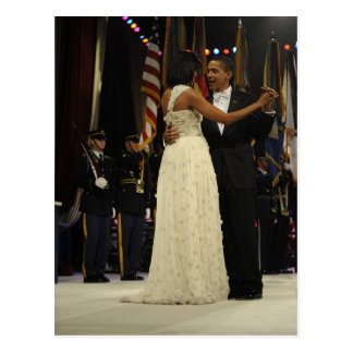 Präsident Barack u. Michele Obama Postkarten