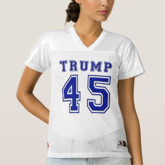 Präsident Blue Football Jersey Donald- Trump45.