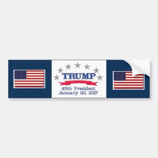 Präsident des Trumpf-45. Autoaufkleber