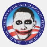 Präsident des USSA Runder Aufkleber