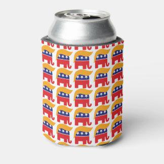 Präsident Donald Trump - GOP-Elefant-Haar Dosenkühler