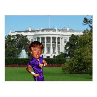 Präsident Donald Trump Postkarte