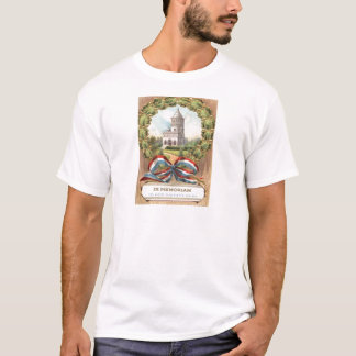 Präsident Garfields Tomb Wreath T-Shirt