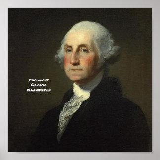 Präsident George Washington Poster
