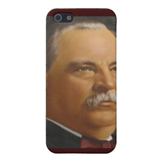 Präsident Grover Cleveland-22 &24th iPhone 5 Case