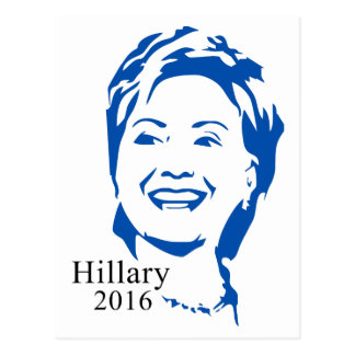 Präsident Hillary Clinton-2016% pipe% Hillary Postkarte