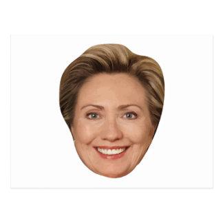 Präsident Hillary Clinton Postkarte