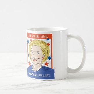 Präsident Hillary Mug Kaffeetasse
