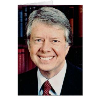 Präsident Jimmy Carter-39. US Karte