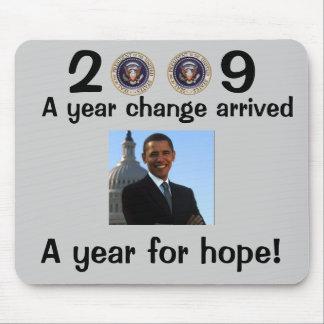 Präsident Obama Inauguration Mauspads
