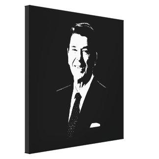 Präsident Ronald Reagan Leinwanddruck