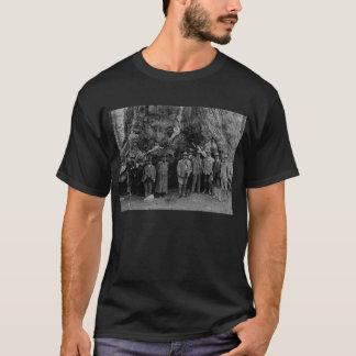 Präsident Roosevelt und John Muir Kalifornien 1903 T-Shirt