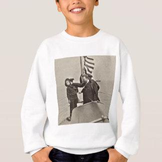Präsident Teddy Roosevelt auf Sweatshirt