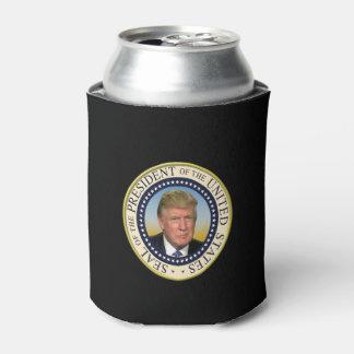 Präsident Trump Foto Presidential Seal Dosenkühler