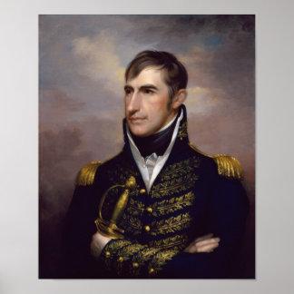 Präsident William Henry Harrison Poster