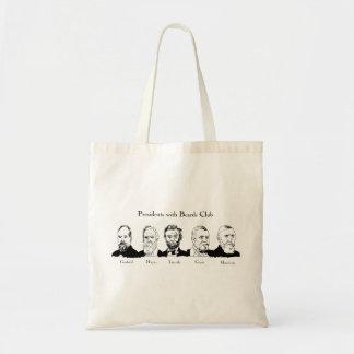 Präsidenten mit Bart-Verein-Budget-Tasche Tragetasche