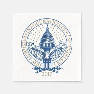 Präsidenteneinweihungs-Trumpf-Pennys-Logo 2017 Papierserviette