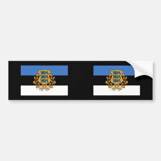Präsidentenestland, Estland Autoaufkleber