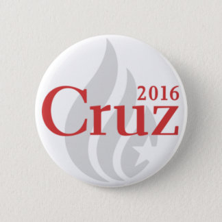 Präsidentenknopf Teds Cruz Runder Button 5,7 Cm